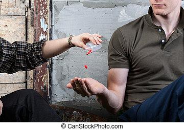Teenage addicts