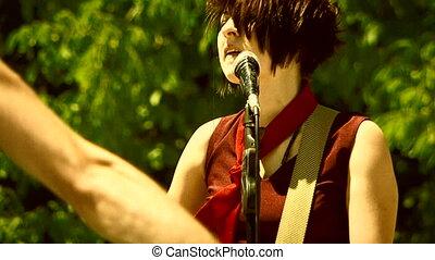 Teenage concert