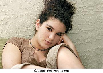 teenage dziewczyna