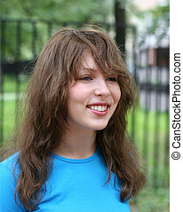 Teenage girl - Beautiful teenage girl