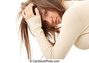 Teenage girl depression - lost love