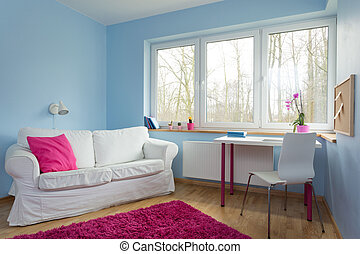 Teenage girl room - New up-to-date design of teenage girl ...