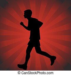 Teenage Runner