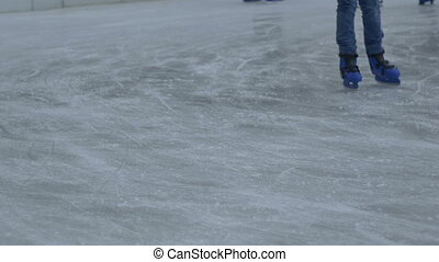 Teenage Skaters Feet