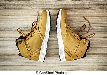 Teenage textile shoes