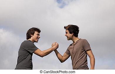 Teenager friendship