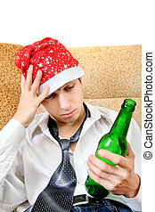 Teenager in Alcohol addiction