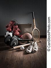 Teenager sports equipment
