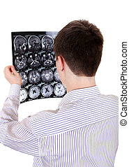Teenager with Tomography