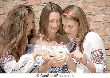 Teenagers Mobile World