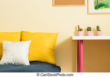 Teenager's room interior