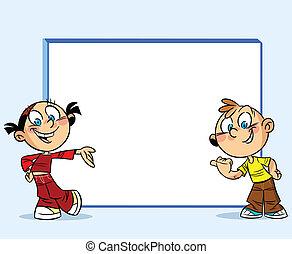 Teens around the whiteboard