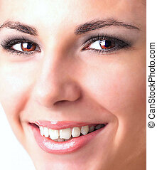teeth., stomatology, zdrowy