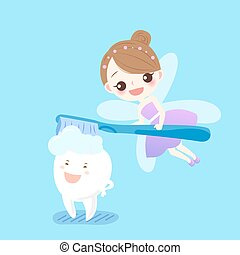 teeth with tooth fairy
