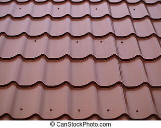 tegels, dak