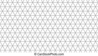 tegels, driehoek, model, seamless, illustratie, achtergrond., witte , textuur