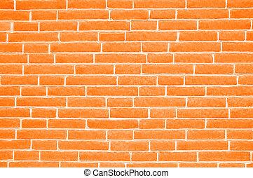 tegelsten, bakgrund, vägg, struktur