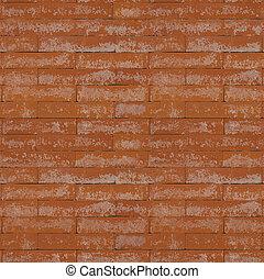 tegelsten, belägga med tegel, struktur