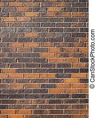 tegelsten vägg, bakgrund