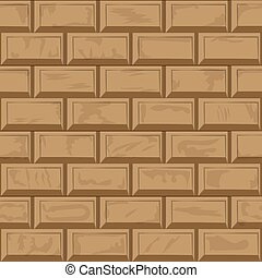 tegelsten vägg, bakgrund, struktur, seamless