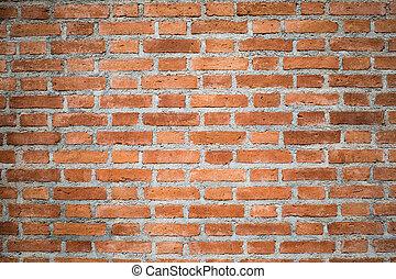 tegelsten vägg