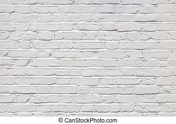 tegelsten, vit, struktur, vägg