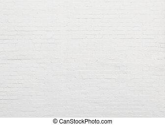 tegelsten, vita vägg