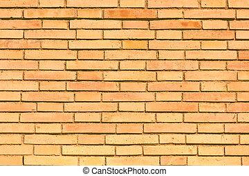 tegelstenar, specificera, tapet, nolla, vägg, struktur
