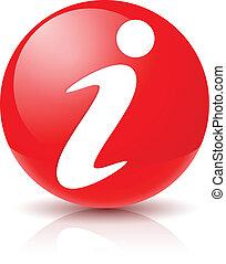 tegn, ikon, information