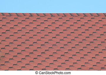 tegola decorativa, metallo, tetto