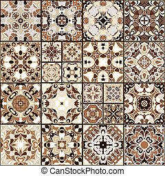 tegole, ceramica, collezione