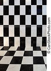 tegole, checkered
