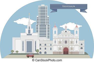 Tegucigalpa, Honduras - Tegucigalpa, capital of Honduras and...
