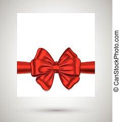 tehetség kártya, szalag, piros