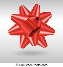tehetség vonó, gyakorlatias, vektor, piros, ikon