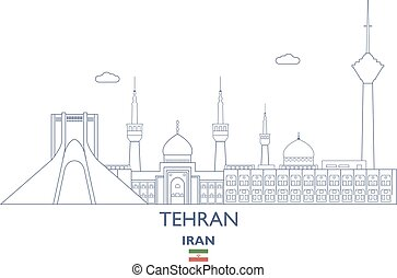 Tehran City Skyline, Iran