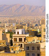 Tehran cityscape. Iran