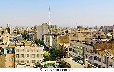 Tehran cityscape, Iran
