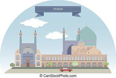 Tehran, Iran. Capital of Iran and Tehran Province