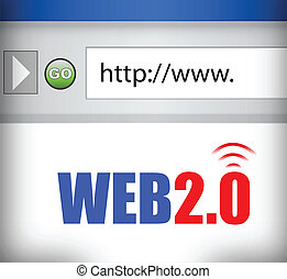 teia, 2.0, browser internet