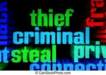 teia, criminal