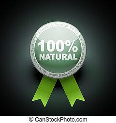 teia, ecologia, botão, cento, empurrão, icon., 100