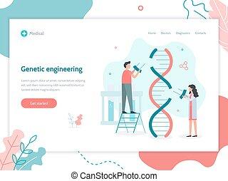 teia, engenharia genética, bandeira