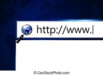 teia, tela, browser, barzinhos, adress