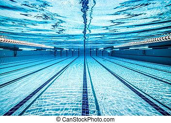 teich, schwimmender