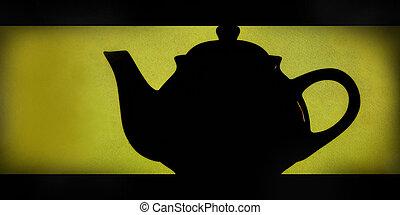 teiera, silhouette