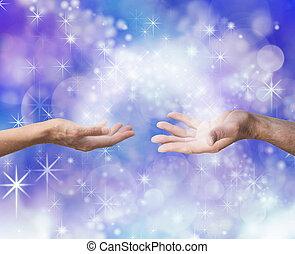 teilen, soulmates, energie