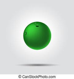 tekézés labda, 8, white, háttér, noha, árnyék
