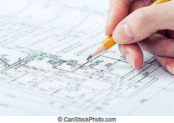 tekening, wisselbrief