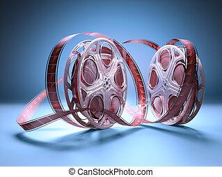 tekercs, film